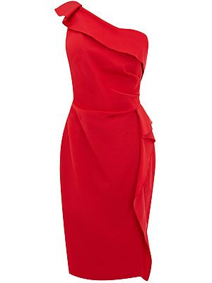 "<p>Be sure to stand out from the crowd in this raunchy red number! Classic and sophisticated, this one-shoulder dress will make you look and feel gorgeous<br /> <br />Natasha dress, £150, <a title=""http://www.coast-stores.com///coast/fcp-product/2143419056#GBP"" href=""http://www.coast-stores.com///coast/fcp-product/2143419056#GBP"" target=""_blank"">Coast</a><br /><br /></p>"