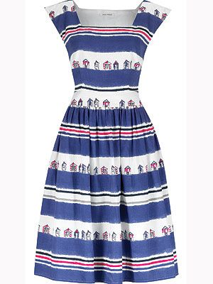 "<p>Fashionable and chic, this dress oozes beach side charm and is perfect for that quirky addition to your wardrobe<br /> <br />Promenade beach hut dress, £115, <a title=""http://www.lauraashley.com/dresses/beach-hut-print-cotton-square-neck-dress/invt/md724/"" href=""http://www.lauraashley.com/dresses/beach-hut-print-cotton-square-neck-dress/invt/md724/"" target=""_blank"">Laura Ashley</a><br /><br /></p>"