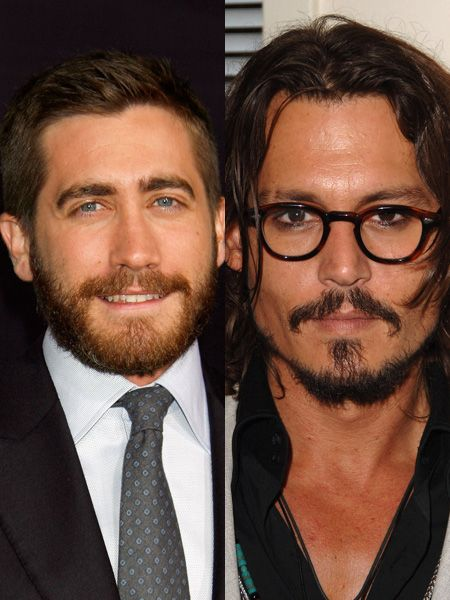 Tache, beard or clean shaven - however this pair of Hollywood heartthrobs come, we wouldn't say no. But who's beard does it best for you?  <br />