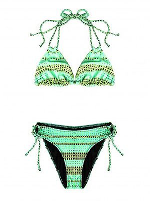 "<p>Think Kurt Geiger only do cool shoes? Think again! They've just launched their first ever bikini and the 60s psychedelic print in lime green is bang on the money!<br /><br />Neon print bikini, £40, <a title=""Kurt Geiger"" href=""http://www.kurtgeiger.com/neon-print-bikini-1.html"" target=""_blank"">Kurt Geiger</a></p>"