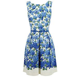 """<p>Isn't this dress dreamy? Perfect for summer weddings, we love the nipped-in waist and matching patent belt.</p> <p>Spot and lace dress, £65, <a href=""""http://www.oasis-stores.com/Spot-and-Lace-Dress/New-In/oasis/fcp-product/3470083661"""">Oasis</a></p>"""
