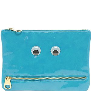<p>The novelty trend is huge for SS12, but if you don't want to look plain bonkers, why not try this adorable patent clutch from Asos? Here's looking at YOU…</p>