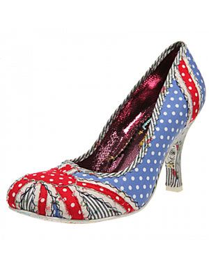 "<p>We couldn't help but let out a squeal when we saw THESE little lovelies - the kitschy take on the Union Jack is utterly to die for! We'll be hotfooting it to the shops to pick up a pair of these before the Jubilee celebrations kick off...</p> <p>Patty, £59.99, <a title=""Irregular Choice"" href=""http://www.irregularchoice.com/shop/womens/product/4748/patty.html?offset=77"" target=""_blank"">Irregular Choice</a></p>"