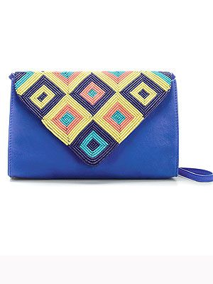 "<p>This gorgeous beaded clutch bag from Zara is too nice to save for evening use only! Team with killer heels and colourful trousers and/or blazer – just carry a tote for all your must-haves that won't fit inside!<br /><br />Diamond pattern clutch bag, £49.99,<a title=""http://www.zara.com/webapp/wcs/stores/servlet/product/uk/en/zara-S2012/199002/807517/DIAMOND%2BPATTERN%2BEVENING%2BCLUTCH%2BBAG  "" href=""http://www.zara.com/webapp/wcs/stores/servlet/product/uk/en/zara-S2012/199002/807517/DIAMOND%2BPATTERN%2BEVENING%2BCLUTCH%2BBAG%20%20"" target=""_blank""> Zara</a><br /><br /></p>"