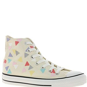 "<p>It's as if these Converse have got bunting all over them – ideal for the forthcoming Diamnd Jubilee, don'tcha think? Even Queenie would approve.<br /><br />Converse Confetti print trainers, £48, <a title=""http://www.asos.com/Converse/Converse-All-Star-Confetti-Print-High-Top-Trainers/Prod/pgeproduct.aspx?iid=2123110&cid=6992&sh=0&pge=0&pgesize=200&sort=-1&clr=Natural%2fmulti "" href=""http://www.asos.com/Converse/Converse-All-Star-Confetti-Print-High-Top-Trainers/Prod/pgeproduct.aspx?iid=2123110&cid=6992&sh=0&pge=0&pgesize=200&sort=-1&clr=Natural%2fmulti%20"" target=""_blank"">Asos.com</a><br /><br /></p>"