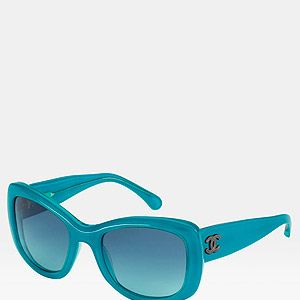 """<p>Blue square sunglasses, <a title=""""http://www.chanel.com/fashion/#8-square-acetate-sunglasses-with-metal-studded-cc-signature-on-temples-5,4,2,8 """" href=""""http://www.chanel.com/fashion/#8-square-acetate-sunglasses-with-metal-studded-cc-signature-on-temples-5,4,2,8%20"""" target=""""_blank"""">Chanel</a><br /><br /></p>"""