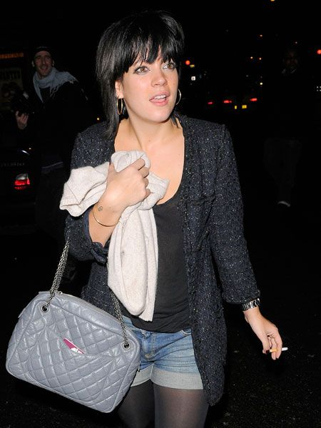 The twosome later met up with mutual friend Lily Allen to party the night (and morning) away at the trendy Notting Hill Arts club before finally emerging bleary eyed at 4.30am...  <br />
