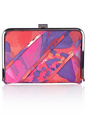 """<p>Every gal needs a statement clutch - especially with wedding season coming up - and this modern printed style will fashion up everything you own!</p> <p>Tinae clutch bag, £55, <a title=""""Coast"""" href=""""http://www.coast-stores.com/TINAE-BAG/New-In/coast/fcp-product/7746309698"""" target=""""_blank"""">Coast</a></p>"""