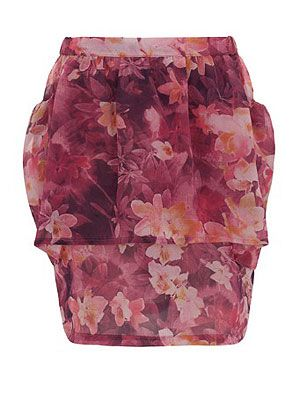 """<p>This tiered flower power print skirt, will show off your tanned legs perfectly and will look great with gladiator flats or fierce heels.</p> <p>Mathilde skirt, £120, <a title=""""Borne"""" href=""""http://www.borneshop.co.uk/product/SS12-81SKIRT-MAPU/*NEW*+-+MATHILDE+SKIRT"""" target=""""_blank"""">Borne</a></p>"""