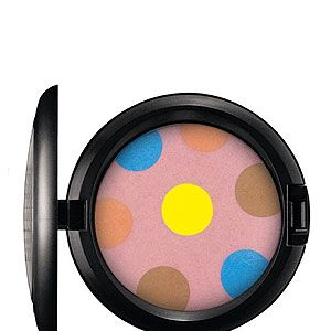 <p>The MAC Beth Ditto collection shoots a knowing wink to candy glossed pop. We heart the polka dot powder – it's almost too cute to use!</p>