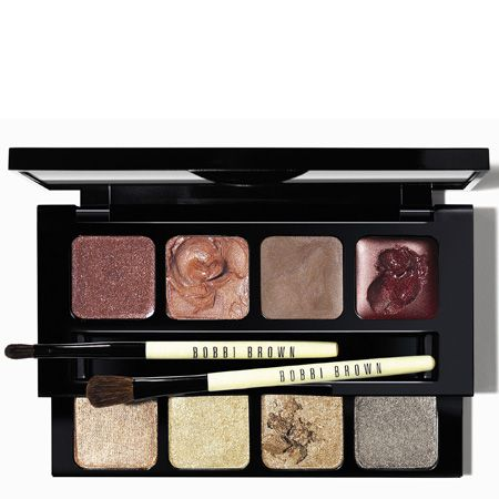 """On every makeup mad madame's wish list will be a Bobbi Brown palette, so don't disappoint and get this double-decker set. She can play up her features for the party season with metallic eye shadows and warm lip colours. And what's more, it's in such a sassy silver carton her beauty bag will hold it with pride. Snap yours up from <a target=""""_blank"""" href=""""http://www.bobbibrown.co.uk"""">www.bobbibrown.co.uk</a><br /><br />"""