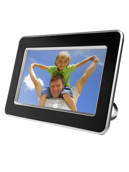 "Now photo fiends can be snap happy and save shed loads on developing. This fancy frame is full of features including a single image or slideshow mode, a stand for landscape or portrait photos and comes with two interchangeable frames so you can match the frame to your mood. Get this perfect photo pressie at <a target=""_blank"" href=""http://www.dixons.co.uk"">www.dixons.co.uk</a><br />"