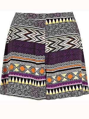 "<p>Tap into this season's tribal trend with this printed pair of shorts. Team with a fitted blazer and strappy flats for a chic city look.<br /><br />Aztec print shorts, £30, <a title=""http://www.riverisland.com/Online/women/shorts/smart-shorts/purple-aztec-print-shorts--622579"" href=""http://www.riverisland.com/Online/women/shorts/smart-shorts/purple-aztec-print-shorts--622579"" target=""_blank"">River Island</a><br /><br /></p>"