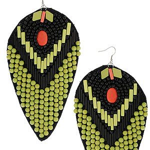 """<p>Step to the tribal beat with ethnic patterns and exotic prints for a high summer look which is all about Africa. These statement earrings are an instant wardrobe update for SS12.<br />Large beaded drop earrings, £25, <a title=""""http://www.topshop.com/webapp/wcs/stores/servlet/ProductDisplay?beginIndex=0&viewAllFlag=&catalogId=33057&storeId=12556&productId=5823362&langId=-1&categoryId=&searchTerm=drop%20earrings&pageSize=200"""" href=""""http://www.topshop.com/webapp/wcs/stores/servlet/ProductDisplay?beginIndex=0&viewAllFlag=&catalogId=33057&storeId=12556&productId=5823362&langId=-1&categoryId=&searchTerm=drop%20earrings&pageSize=200"""" target=""""_blank"""">Topshop</a><br /><br /></p>"""