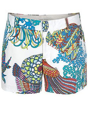"<p>Inject some tropical spirit into your wardrobe courtesy of Tina Turk's capsule collection for Banana Republic… </p> <p>Trina Turk printed shorts, £35, <a title=""http://bananarepublic.gap.eu "" href=""http://bananarepublic.gap.eu%20"" target=""_blank"">Banana Republic </a><br /><br /></p>"