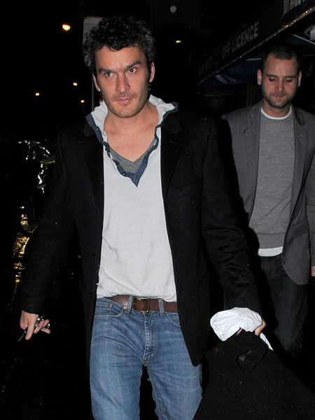 Sienna Miller and Balthazar Getty, who seem to be very much back on again, were pictured leaving private members club The Groucho. The pair were keen to keep their relationship a secret leaving separately, albeit just moments after one another...  <br />