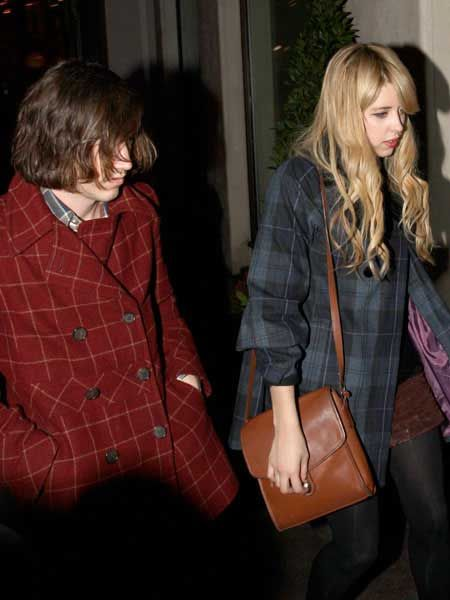 Peaches Geldof and Max Drummey were at the launch for fashion label PPQ at Movida, for which Peaches has created her very own collection. The pair took the party on to London's exclusive Bungalow 8...  <br />