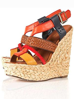 "<p>These Toppers wedges are WICKED. From the raffia sole through to the contrast textures and spicy colours, these will mostly be on our feet allll summer long.</p> <p>WIGWAM Woven Espadrille Wedges, £75, <a title=""http://www.topshop.com/webapp/wcs/stores/servlet/ProductDisplay?beginIndex=0&viewAllFlag=&catalogId=33057&storeId=12556&productId=5930827&langId=-1&categoryId=&searchTerm=WIGWAM&pageSize=2"" href=""http://www.topshop.com/webapp/wcs/stores/servlet/ProductDisplay?beginIndex=0&viewAllFlag=&catalogId=33057&storeId=12556&productId=5930827&langId=-1&categoryId=&searchTerm=WIGWAM&pageSize=2"" target=""_blank"">Topshop</a><br /><br /></p>"