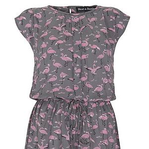 """<p>A more muted take on the flamingo trend, we adore the soft colours on this pretty playsuit.</p><p>Flamingo Playsuit, £ 40, <a title=""""Brat and Suzie"""" href=""""http://www.bratandsuzie.com/tops-and-dresses/flamingo-playsuit.html%20"""" target=""""_blank"""">Brat and Suzie</a></p>"""
