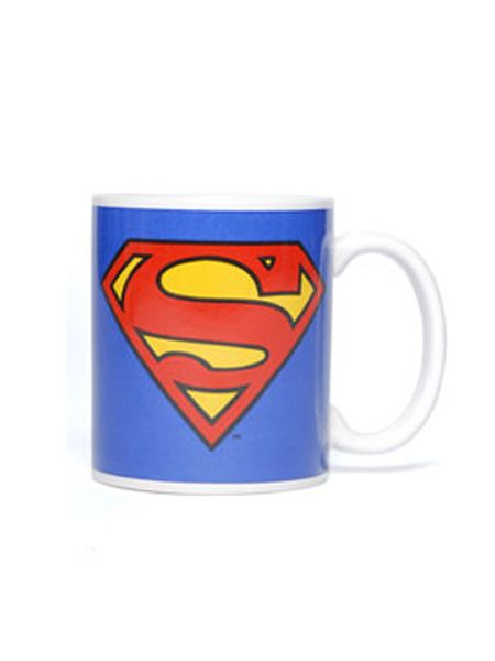 "Let him fulfil his superhero fantasy with this ceramic creation, (superhero powers not included.) This super mug from <a target=""_blank"" href=""http://www.urbanoutfitters.co.uk"">www.urbanoutfitters.co.uk</a> is able to withstand the heat of a hot drink and battle against the forces of both the microwave and dishwasher, meaning it can be used it both appliances.  <br />"