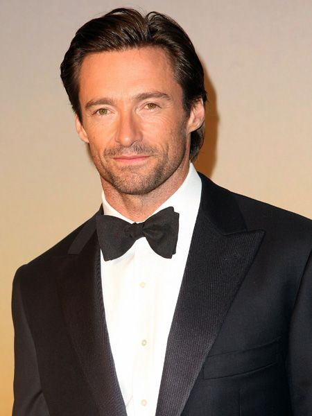 Sleek, smooth and oh so sexy, a tux-wearing Hugh showed other A-listers how it's done at this year's MoMa film benefit gala in New York.  <br />