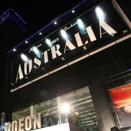 Yee ha! We finally get to see Hugh Jackman fulfil our cowboy fantasies in his latest flick, <em>Australia</em>. The film launches in the UK this week so get ready for a stampede at your cinema. And purely for your viewing pleasure, here are the snaps from the London premiere...  <br />