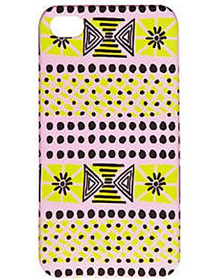 """<p>This Aztec print iPhone case is so cool you'll want to whip out your phone ALL the time. And who cares if it's just to answer a fake phone call? We NEVER do that, obvs…</p> <p>Pink and yellow print iPhone 4 case, £8, <a title=""""http://www.riverisland.com/Online/women/gifts--cosmetics/technology/pink-and-yellow-print-iphone-4-case-617959"""" href=""""http://www.riverisland.com/Online/women/gifts--cosmetics/technology/pink-and-yellow-print-iphone-4-case-617959"""" target=""""_blank"""">River Island</a></p>"""