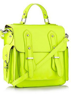 <p>This bright yellow satchel bag is part of Henry Holland's affordable range and bang on trend. Need we say more?</p>