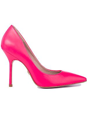 "<p>Killer heels from Kurt Geiger are a fave - and this neon pair will brighten up any potential grey days.</p> <p>Carey neon heel, £120, <a title=""http://www.kurtgeiger.com/women/carey-9.html"" href=""http://www.kurtgeiger.com/women/carey-9.html"" target=""_blank"">Kurt Geiger</a></p>"
