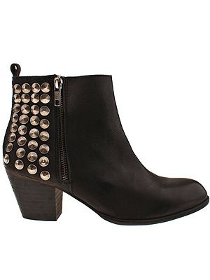 "<p>Studs are IT. Whether on leather jackets, cropped shorts, boots and heels, studs are definitely having a bit of a moment and the Schuh Bryony Studded Boot, is defo one of our faves. Hello, stud (sorry, couldn't resist).</p> <p>Bryony Studded Boot, £90, <a title=""http://www.schuh.co.uk/womens-black-schuh-bryony-studded-zip-ank/1411007020"" href=""http://www.schuh.co.uk/womens-black-schuh-bryony-studded-zip-ank/1411007020"" target=""_blank"">Schuh</a><br /><br /></p>"