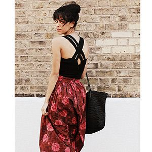 <p>Jazmine from London prefers to shun the high street in favour of second-hand pieces. Here she demonstrates a classically effortless look that's perfect for those hot summer days. VO5 loves the way Jazmine's volumised messy bun and sleek fringe bring the whole look together.</p>