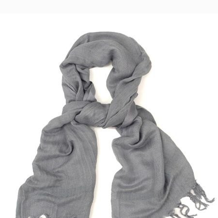 """Luxury linen-mix scarf, £80, <a target=""""_blank"""" href=""""http://www.bunnyhug.co.uk/fashionshop/"""">www.bunnyhug.co.uk</a><br /><br /><strong>COSMO OFFER:</strong> Bunny Hug is offering 20% off everything during the month of Jan. Simply quote 'Cosmo20' at the checkout.<br />"""