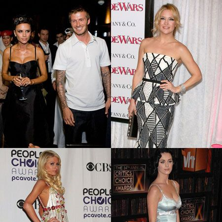 Click through to see the celebs out and about on the town this week...  <br />