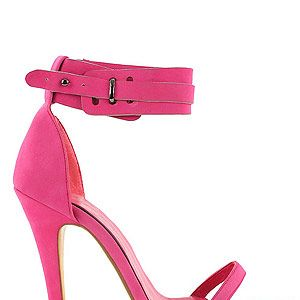 """<p>If pink makes the boys wink then a pink shoe makes us go ooooh! The perfect excuse to get a pedi on a clashing bright colour, we heart these strappy heels from Nelly.            </p><p>Pink strappy sandals, £35.95, <a title=""""http://nelly.com/uk/shoes-women/shoes/party-shoes/nelly-shoes-427/cit-428091-54/ """" href=""""http://nelly.com/uk/shoes-women/shoes/party-shoes/nelly-shoes-427/cit-428091-54/%20"""" target=""""_blank"""">Nelly.com</a><br /><br /></p>"""