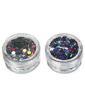 """<p>We love the Louise Gray for Topshop clothing collection. But if sequin smiley faces on sweaters are too full on for you, why not pick up a glitter pot instead? Sprinkle onto face and body - or on wet nail varnish for holographic nail art!</p><p>Glitter Pots in Peacock By Louise Gray, £8, <a title=""""http://www.topshop.com/webapp/wcs/stores/servlet/ProductDisplay?beginIndex=1&viewAllFlag=&catalogId=33057&storeId=12556&productId=6349247&langId=-1&sort_field=Relevance&categoryId=649132&parent_categoryId=459528&pageSize=200"""" href=""""http://www.topshop.com/webapp/wcs/stores/servlet/ProductDisplay?beginIndex=1&viewAllFlag=&catalogId=33057&storeId=12556&productId=6349247&langId=-1&sort_field=Relevance&categoryId=649132&parent_categoryId=459528&pageSize=200"""" target=""""_blank"""">Topshop</a><br /><br /></p>"""