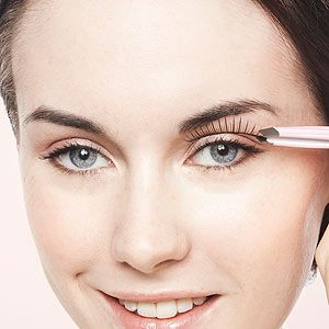 """<p><strong>Q:</strong> """"I could really do with some help with my fake eyelashes as I just can't put them on. I try to follow the instructions but they just don't stick.""""</p><p><strong>Pixiwoo:</strong> """"Have you tried using a different glue? Duo lash glue is fantastic. Also, make sure you allow the glue to dry a little before you apply the lashes to the eye, this will help it stay in place. I do have a False lashes video on youtube.""""</p>"""