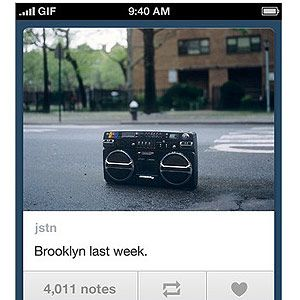 "<p>This free app lets you share photos, videos, text, links and much more at the click of a button. Keep your blog updated on the go as you can draft and schedule posts wherever you are in the world. Clever yes? Download your version <a title=""http://itunes.apple.com/gb/app/tumblr/id305343404?mt=8"" href=""http://itunes.apple.com/gb/app/tumblr/id305343404?mt=8"" target=""_blank"">HERE</a>.</p>