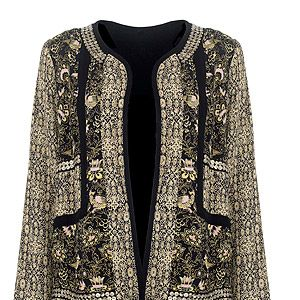 """<p>So You Think You Can Dance presenter and full-time fashionista Cat Deeley wore this persian peacock jacket. Get it, now!</p> <p>Monsoon persian peacock jacket, £69, <a href=""""http://uk.monsoon.co.uk/view/product/uk_catalog/mon_6,mon_6.23/2236050112"""" target=""""_blank"""">Monsoon.co.uk </a></p>"""