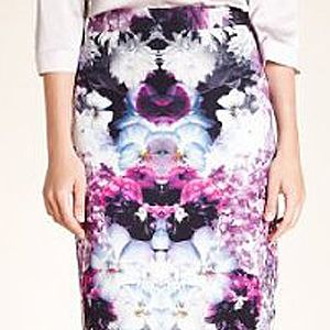"""<p>Spruce up your workwear with this super-cool digital print pencil skirt. It's just enough of a girly touch to feel feminine at the office.</p> <p>Autograph floral print pencil skirt, £49.50, <a href=""""http://www.marksandspencer.com/Autograph-Floral-Print-Pencil-Skirt/dp/B004GBPV9Y?ie=UTF8&ref=sr_1_6&nodeId=192505031&sr=1-6&qid=1347377716&pf_rd_r=05GTQKB6QP5XGR1NPJ74&pf_rd_m=A2BO0OYVBKIQJM&pf_rd_t=101&pf_rd_i=192505031&pf_rd_p=321381387&pf_rd_s=related-items-3"""" target=""""_blank"""">Marksandspencer.com </a></p>"""