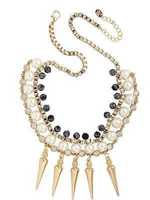 <p>This uh-maze statement necklace is a real show stopper - without breaking the bank. Wear with simple separates to totes amp up your look.</p>