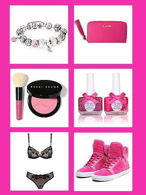"<p>We love everything pink here at Cosmo HQ, especially the pink ribbon for Breast Cancer Awareness Month. Knowing how important our breasts are to us - and to our fellow females - here are some ways we can contribute to Breast Cancer Research (while looking and feeling beautiful at the same time).</p> <p>Check out our gallery of the best Breast Cancer Awareness products and support a great cause. This year, there's a little bit of blue to shout out to our fellow men suffering from this unfortunate disease, too. So g'on, support the research into the cancer you want to beat, and see the impact you can make.</p> <p>Are you doing anything for Breast Cancer Awareness Month? Tweet us at <a href=""http://twitter.com/cosmopolitanuk"" target=""_blank"">@CosmopolitanUK </a></p>"