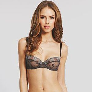 """<p>With gorgeous vintage style lace, this delicate bra oozes sex appeal but without being too obvious. It feels great against your skin and makes you feel pretty from the inside out. Pair with matching White Nights G-string, your man will be begging you for more.</p><p>Passionata White Nights Balconette <a href=""""http://www.figleaves.com/uk/product/PAA-4065/Passionata-White-Nights-Balconette-Bra/?size=&colour=Greys"""">bra</a>, £34, and White Nights <a href=""""http://www.figleaves.com/uk/product/PAA-4067/Passionata-White-Nights-String/?size=&colour=Greys"""">g-string</a>, £19, Figleaves</p>"""