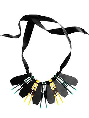 "<p>God bless H&M and their excellent, affordable accessories. Anna Dello Russo aside, there really are some amaze trophy pieces to be had in their main range, like this show-stopping piece. Dress up a standard sweater with this bad boy.</p> <p>Statement necklace, £24.99,<a title=""http://www.hm.com/gb/product/07343?article=07343-A "" href=""http://www.hm.com/gb/product/07343?article=07343-A%20"" target=""_blank""> H&M</a><br /><br /></p>"