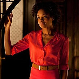 """<p>Naomie Harris plays Eve, an assistant at the MI6 office that gets into a pretty close shave (literally) with Daniel Craig in the latest James Bond film, Skyfall. Watch her try to shoot a moving target without flinching!</p><p><strong>Secret pro tip</strong>: Although it was super hot watching Daniel Craig shave with a knife, being traditional with your hair removal might not be so sexy these days. The new <a href=""""http://www.boots.com/en/Gillette-Venus-Naked-Skin-designed-by-Braun-Intense-Pulsed-Light-Hair-Reduction-System_1262160/"""" target=""""_blank"""">Gillette Venus Naked Skin</a> gradually breaks the cycle of hair re-growth while you sleep. Now that's something we don't mind waking up to!</p>"""