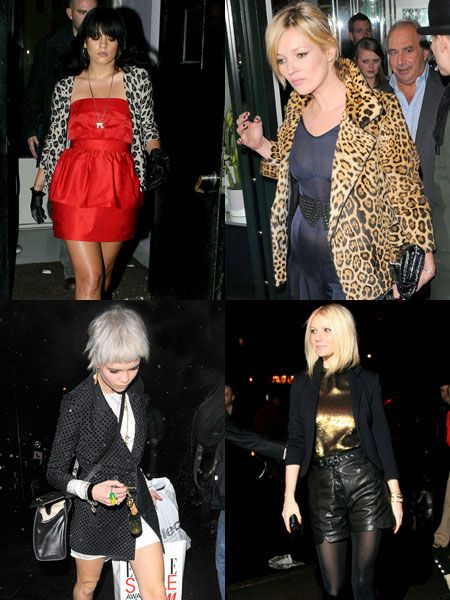 Click through to see the celebs out and about on the town partying and posing this week...