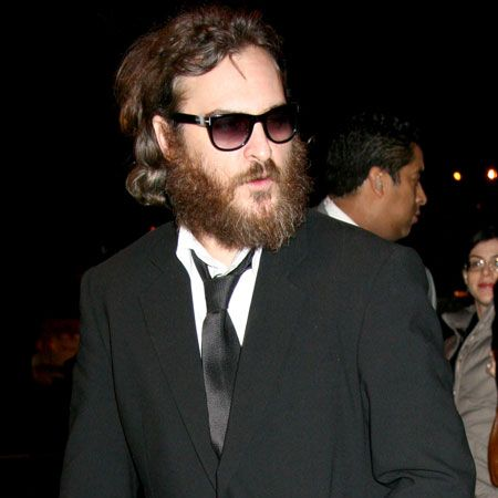 Gwyneth's 'Two Lovers' co-star Joaquin Phoenix continues to cause concern with his scruffy appearance. He refused to smarten up for the premiere or even remove his sunglasses and his look is far cry from his fresh faced appearance in the film...  <br />