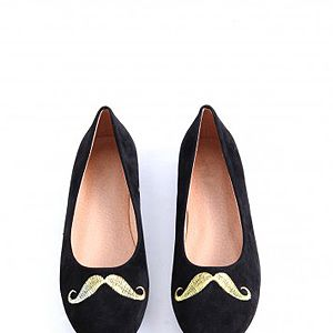 <p>Although we may all disagree on whether men should sport moustaches (like, ever), we can at least agree that girls look just as great with this Movember stamp. This is definitely our favourite pick.</p>