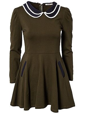 """<p>Channel Rachel Berry with this Gleetastic preppy dress, totally suitable for any winter activities you'll find yourself falling into this month. </p> <p>Kling Cutting Dress, £57.95, <a href=""""http://nelly.com/uk/womens-fashion/clothing/dresses/kling-734/cutting-dress-734142-76/"""" target=""""_blank"""">Nelly</a></p>"""