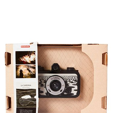 """<p>For the snap happy, vintage photo lovers, this Lomography camera will satisfy his creative curiosity, creating old-school images. Exclusively designed by Korean artist <span class=""""st"""">Daehyun Kim</span>, it's a bit more special than your average camera!</p><p> </p>"""