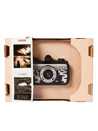 "<p>For the snap happy, vintage photo lovers, this Lomography camera will satisfy his creative curiosity, creating old-school images. Exclusively designed by Korean artist <span class=""st"">Daehyun Kim</span>, it's a bit more special than your average camera!</p>